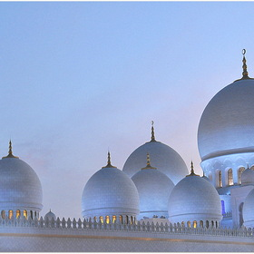 Воздушная мечеть /Sheikh Zayed Grand Mosque Centre Abu Dhabi